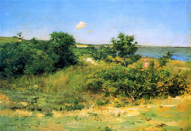 Shinnecock Hills, Peconic Bay, c.1892 - c.1902 - William Merritt Chase