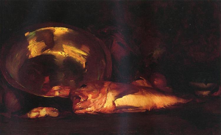 Still Life, c.1915 - William Merritt Chase