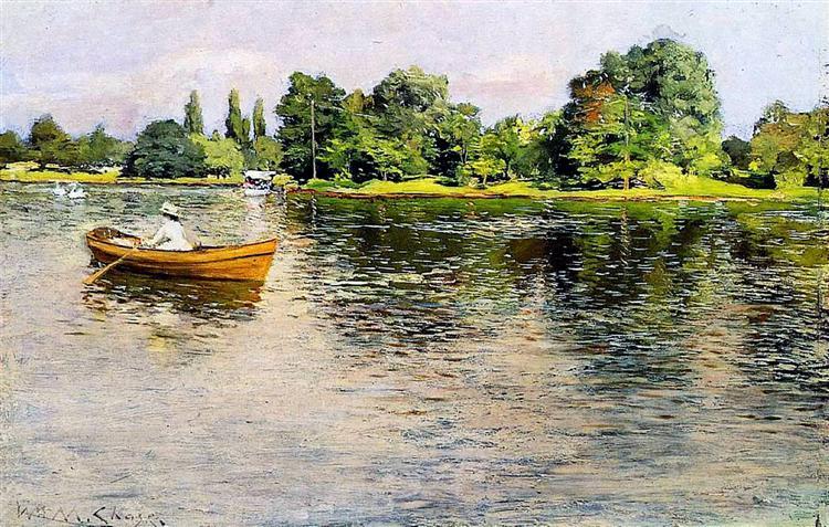 Summertime (Pulling for Shore), c.1886 - William Merritt Chase