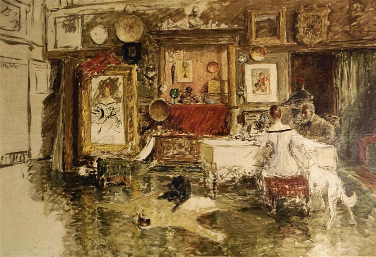 The Tenth Street Studio, 1880 - 1915 - William Merritt Chase