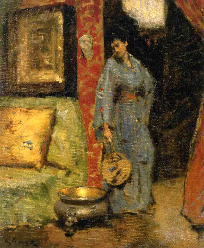 an analysis of the tenth street studio by william merritt chase The the tenth street studio painting originally painted by william merritt chase can be yours today all reproductions are hand painted by talented artists free shipping.