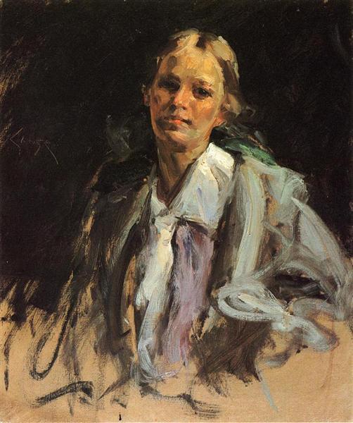 Young Girl, 1900 - William Merritt Chase