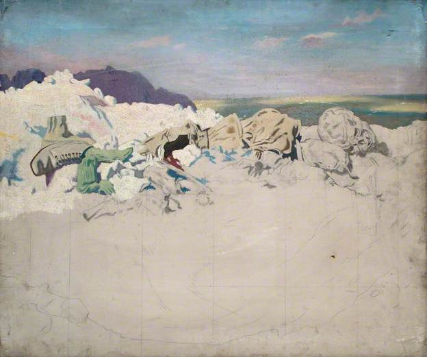 Beaumont Hamel, 1920 - William Orpen