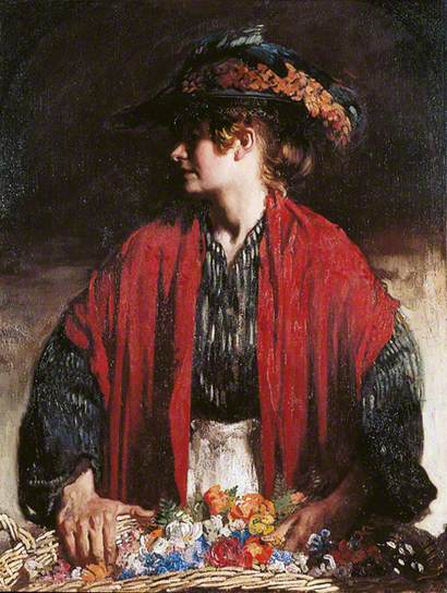 Lottie of Paradise Walk, 1905 - William Orpen
