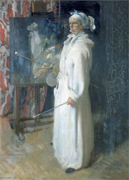Portrait of the Artist, 1908 - William Orpen