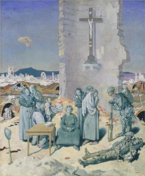 The Mad Woman of Douai, 1918 - William Orpen
