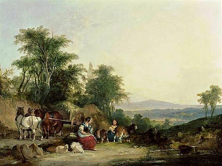 Country Life, 1849 - William Shayer