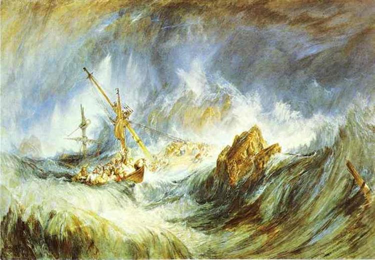 A Storm (Shipwreck), 1823 - J.M.W. Turner