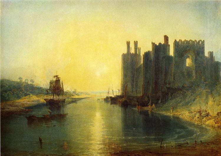 Caernarvon Castle, 1799 - J.M.W. Turner