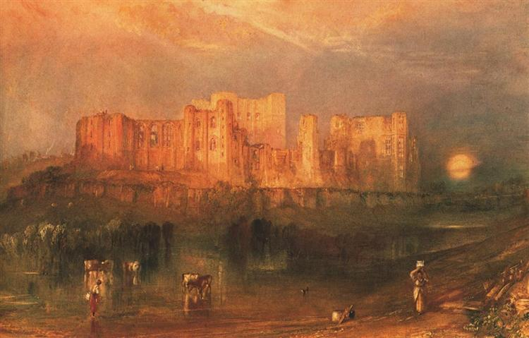 Kenilworth Castle, c.1830 - J.M.W. Turner