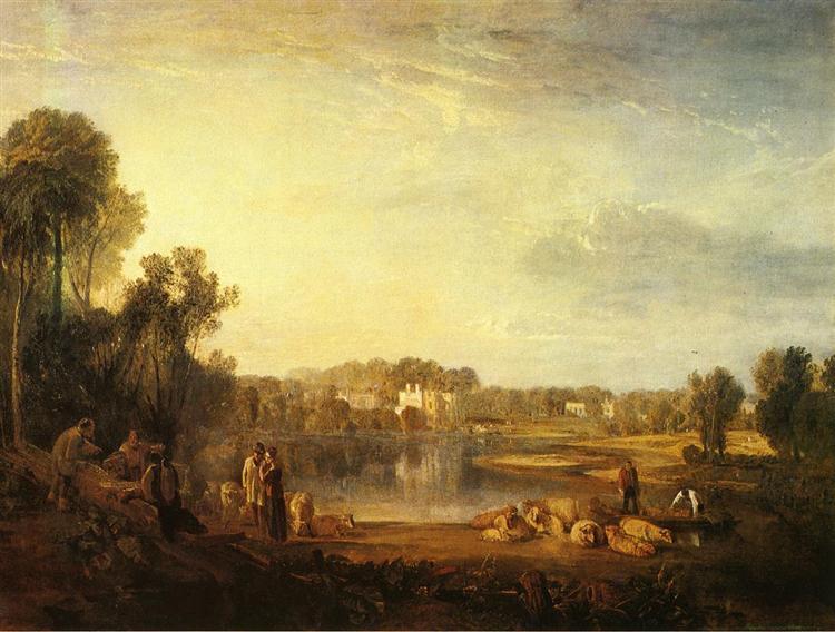 Pope's Villa, at Twickenham, 1808 - J.M.W. Turner