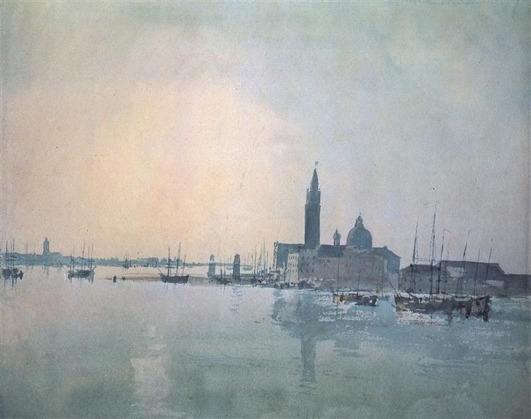San Giorgio Maggiore in the Morning, 1819 - J.M.W. Turner