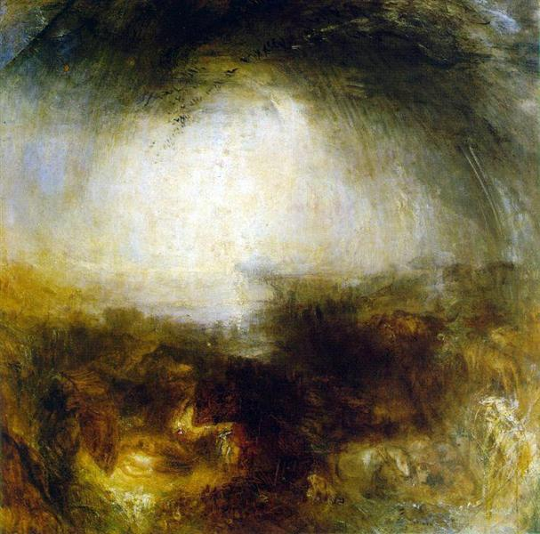 Shade and Darkness, The Evening of The Deluge, 1843 - J.M.W. Turner