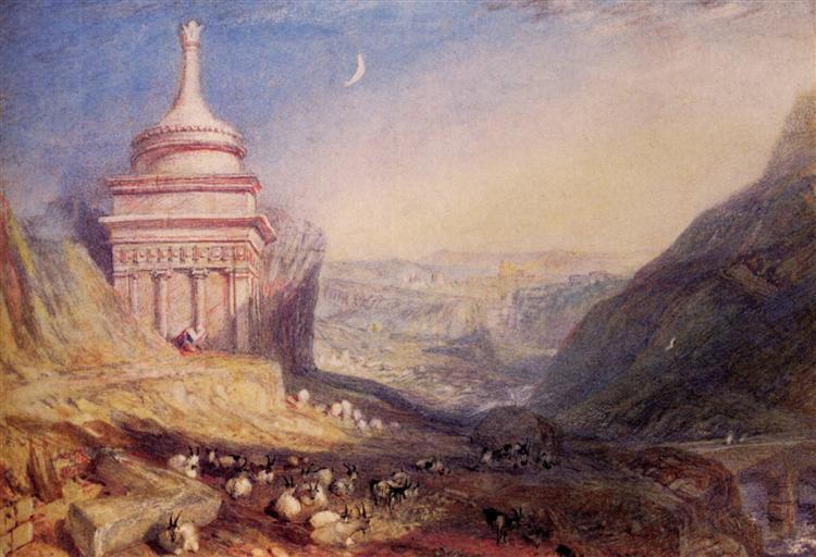 Valley of The Brook Kedron - J.M.W. Turner