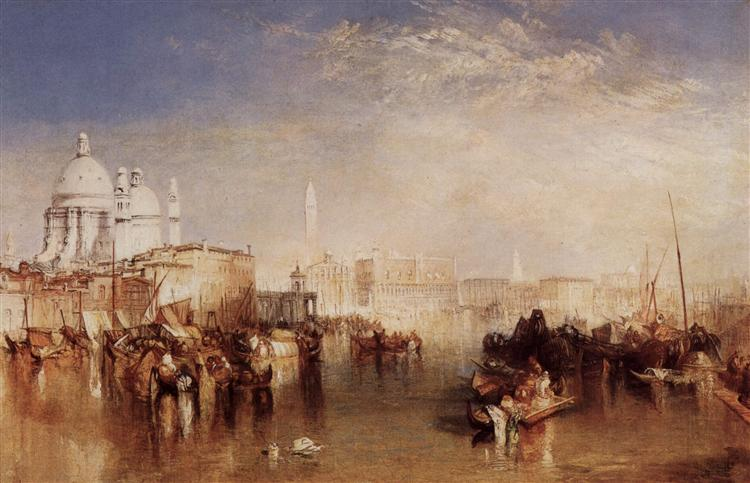 Venice, seen from the Giudecca Canal, 1840 - J.M.W. Turner