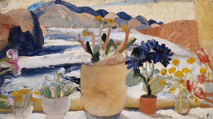 Window-Sill, Lugano, 1923 - Winifred Nicholson