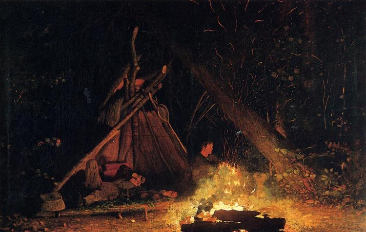 Camp Fire - Winslow Homer