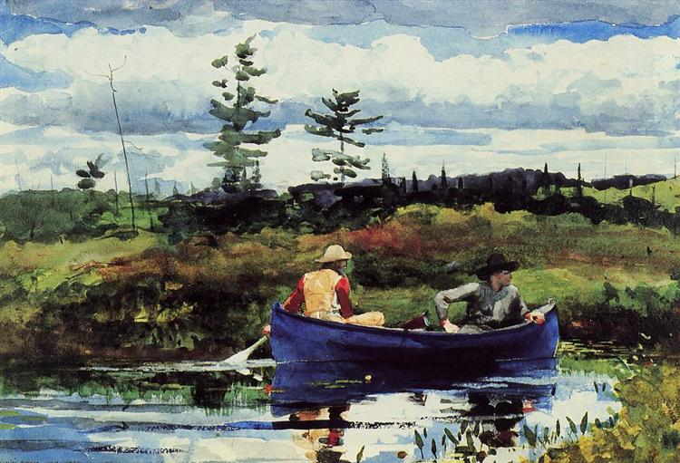 The Blue Boat, 1892 - Winslow Homer