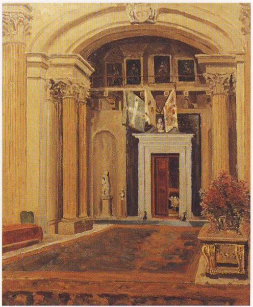 Great Hall at Blenheim Palace - Winston Churchill