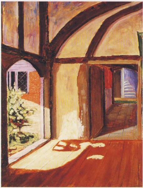 Interior at Breccles - Winston Churchill