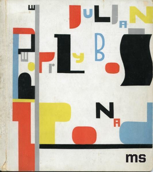 Cover for a book by Julian Przyboś, Z ponad - Wladyslaw Strzeminski