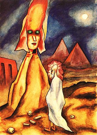 Alma Dás Pirámides, 1921 - Xul Solar