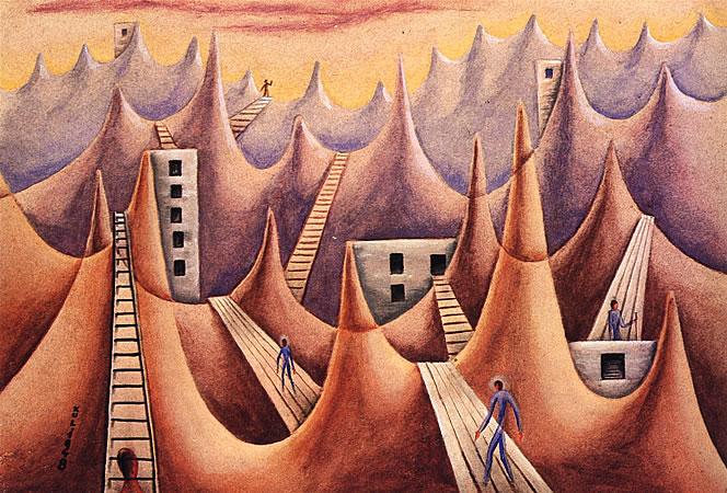 Barreras Melódicas, 1948 - Xul Solar