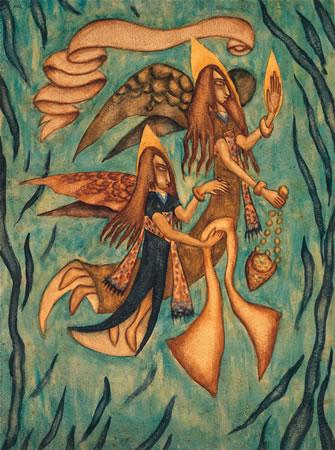 Dos Anjos, 1915 - Xul Solar