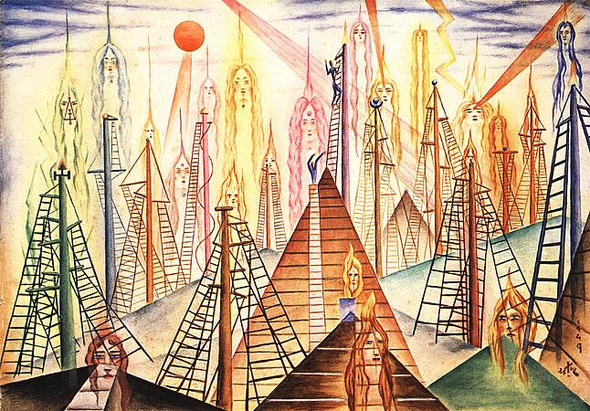 Trece San Mástiles, 1949 - Xul Solar