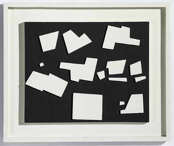 Blanc noir rythmé, 1953 - Yaacov Agam