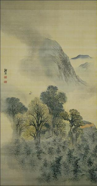 Cuckoo Flying over New Verdure - Yosa Buson