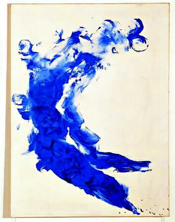Anthropometry, 1960 - Yves Klein