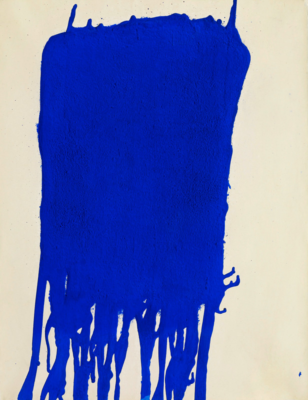blue yves klein encyclopedia of visual arts. Black Bedroom Furniture Sets. Home Design Ideas
