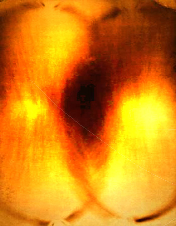Fire Painting F36, 1961 - Yves Klein