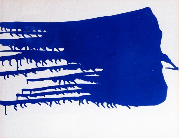 Untitled Blue Monochrome, 1956 - Yves Klein