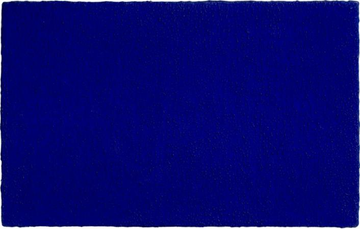 Untitled Blue Monochrome, 1960 - Yves Klein