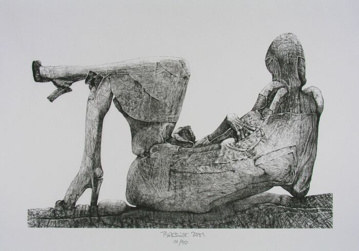 Untitled, 2001 - Здіслав Бексинський