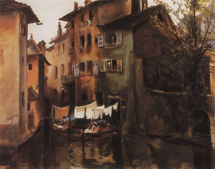 Annecy, 1933 - Sinaida Jewgenjewna Serebrjakowa