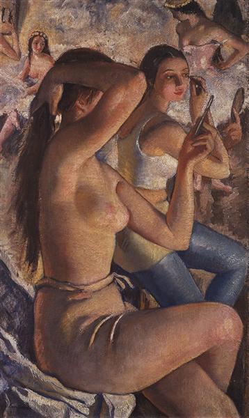 Balletwashroom, 1924 - Zinaida Serebriakova