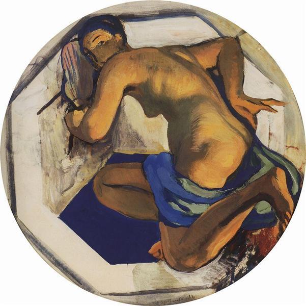 Japan (odalisque), 1916 - Zinaida Serebriakova
