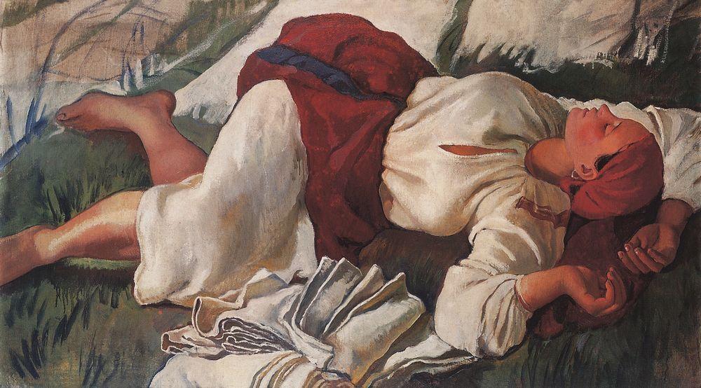http://uploads3.wikipaintings.org/images/zinaida-serebriakova/sleeping-peasant-1917.jpg