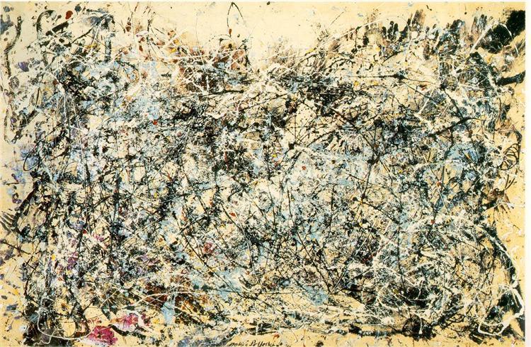 No  1  1948 - Jackson Pollock