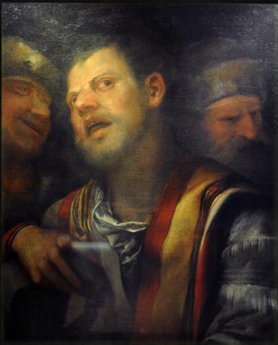 Samson captured by the Philistines - Giorgione