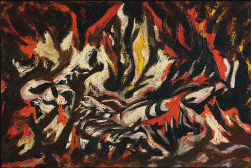 The Flame, 1938 - Jackson Pollock