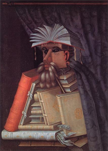 The Librarian, 1566 - Giuseppe Arcimboldo