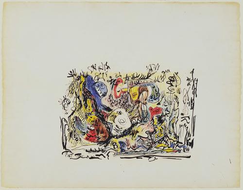 Untitled, c.1945 - Jackson Pollock