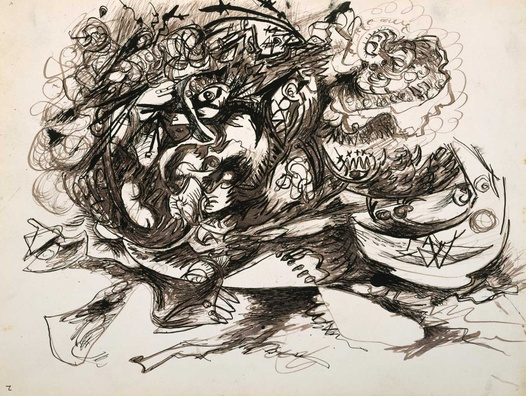 Untitled (O'Connor-Thaw 771), c.1946 - c.1947 - Jackson Pollock