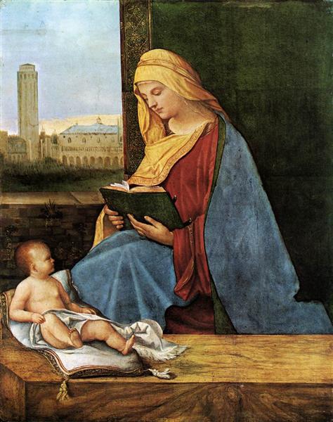 Virgin and Child (The Tallard Madonna) - Giorgione